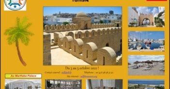 2ème congrès international AIDF du 3 au 5 octobre 2022 à Sousse Tunisie