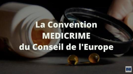 La Convention MÉDICRIME du Conseil de l'Europe par Pascale VANNEAUX