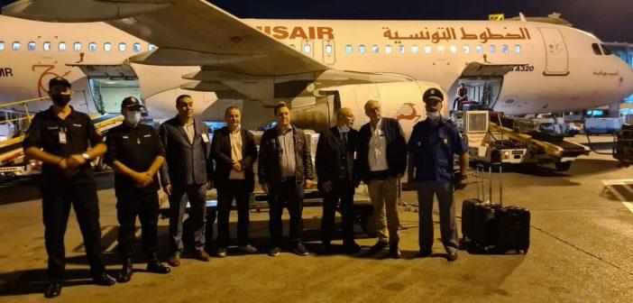 Remise des concentrateurs d'oxygène au Centre médical des douanes de Tunis le 1er octobre